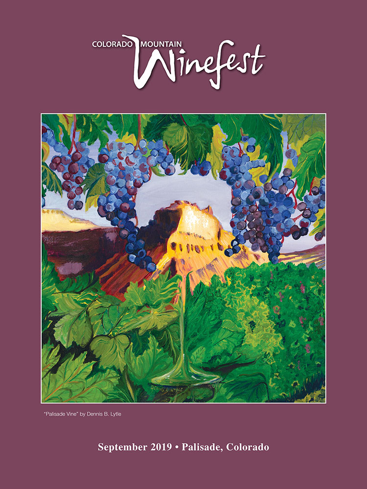 2019 Colorado Wine Poster